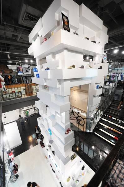 Tau Architect Source Store At Shanghai China China Goods-Shelf2 Industrial 3697
