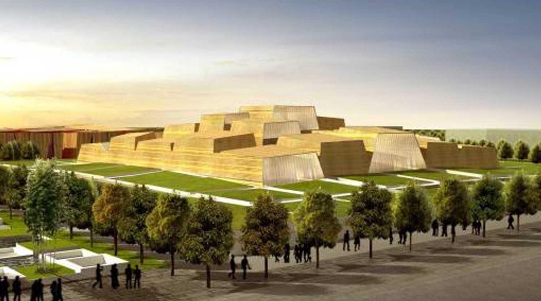 Tau Architect Xian Daming Gong Museum Competition Xian, China Xian, China 4 Modern 38289