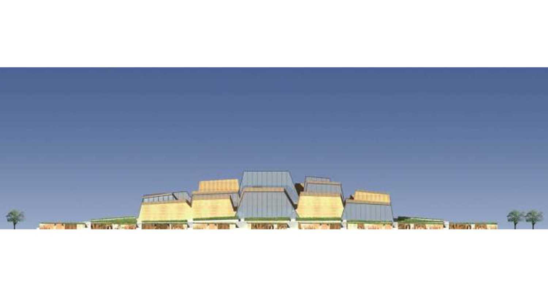 Tau Architect Xian Daming Gong Museum Competition Xian, China Xian, China 1 Kontemporer 38290