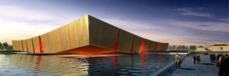 Tau Architect Xian Daming Gong Museum Competition Xian, China Xian, China Eyelevel1 Modern 4756