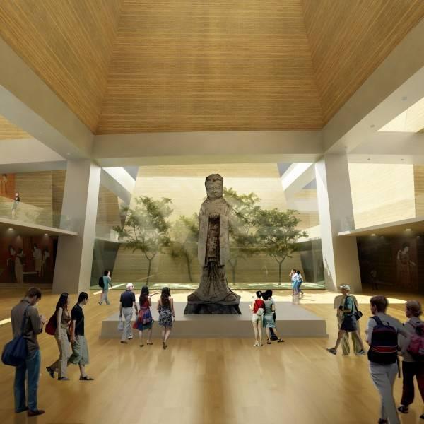 Tau Architect Xian Daming Gong Museum Competition Xian, China Xian, China Interior1 Modern 4760