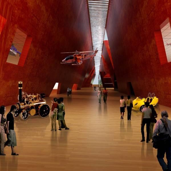 Foto inspirasi ide desain display area modern Interior3 oleh TAU Architect di Arsitag