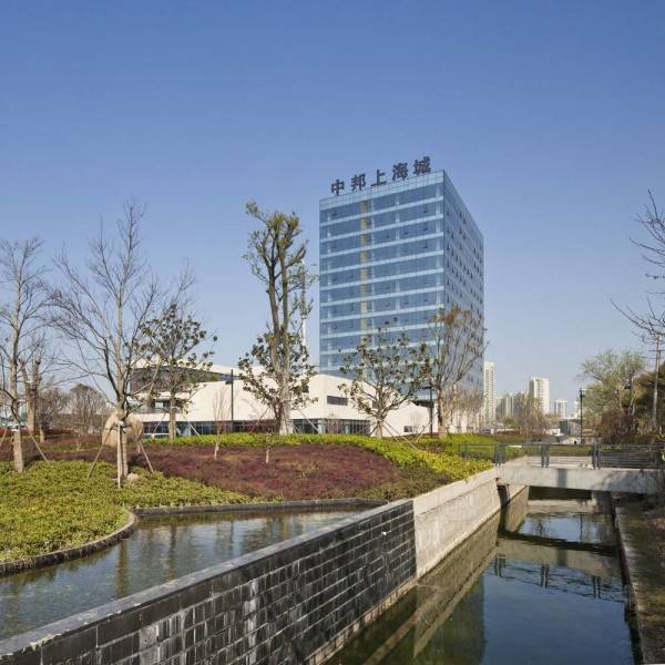 Tau Architect Qidong Commerical Shanghai ,china Shanghai ,china Qidong  Areal View Modern 4818