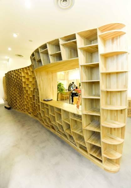 Tau Architect Hair Corner  Shanghai ,china Shanghai ,china Dst9886 Minimalis 4826