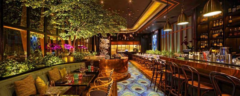 Leo Einstein Fransiscus Bottega Ristorante Mega Kuningan Mega Kuningan Seating Area Restaurant  7837