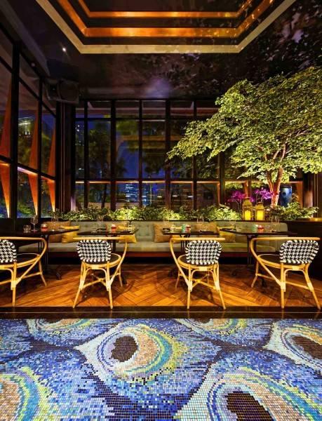Leo Einstein Fransiscus Bottega Ristorante Mega Kuningan Mega Kuningan Seating Area Restaurant  7839