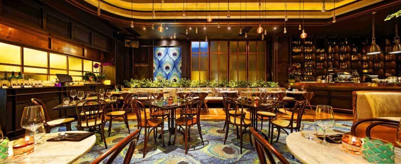 Leo Einstein Fransiscus Bottega Ristorante Mega Kuningan Mega Kuningan Seating Area Restaurant  7841