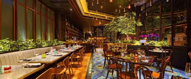 Leo Einstein Fransiscus Bottega Ristorante Mega Kuningan Mega Kuningan Seating Area Restaurant  7844