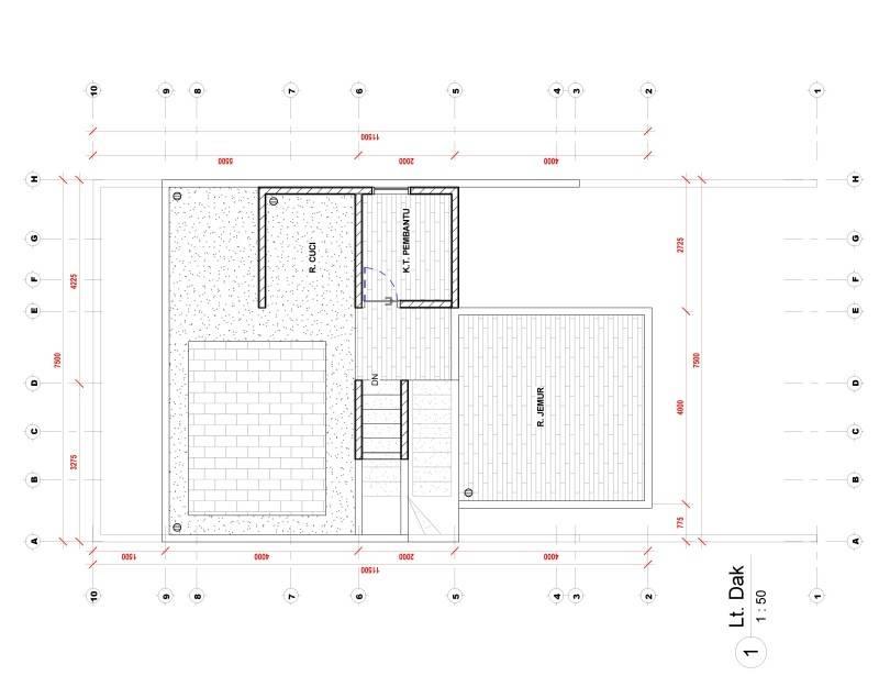 Nico Gowindra Ss-House Bsd - Tangerang Bsd - Tangerang Denah Kontemporer,modern 3793