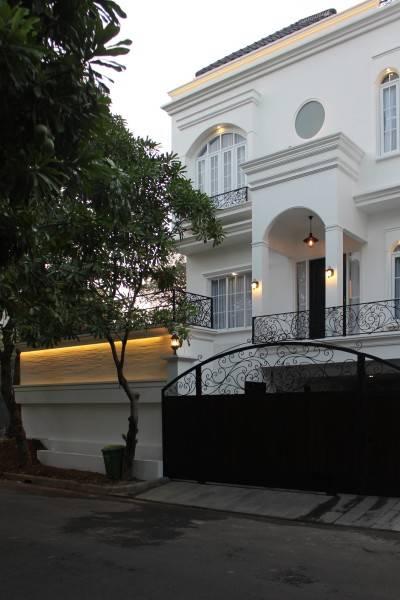 Studio Rtm He-House Villa Pondok Indah Villa Pondok Indah Facade  3808