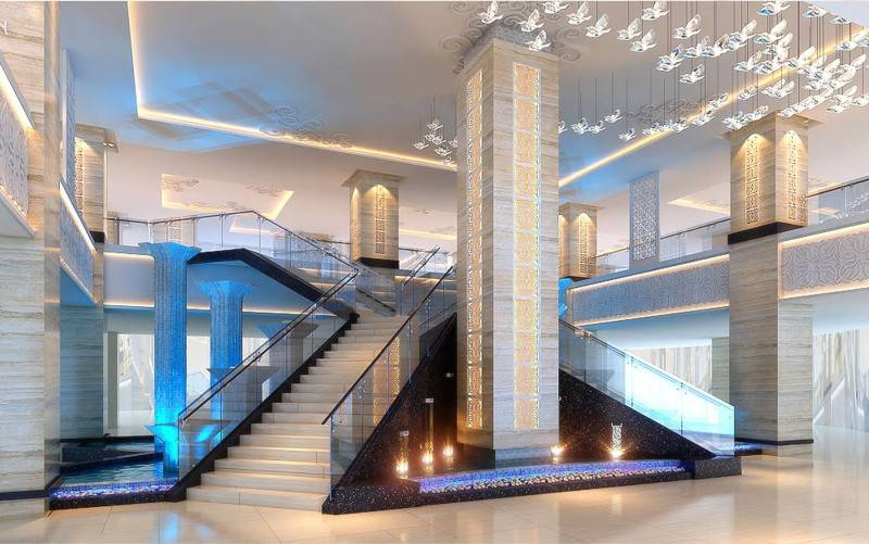 Mul I.d Design Consultant Four Points Sheraton At Makassar South Sulawesi South Sulawesi Main-Staircase Modern 3868