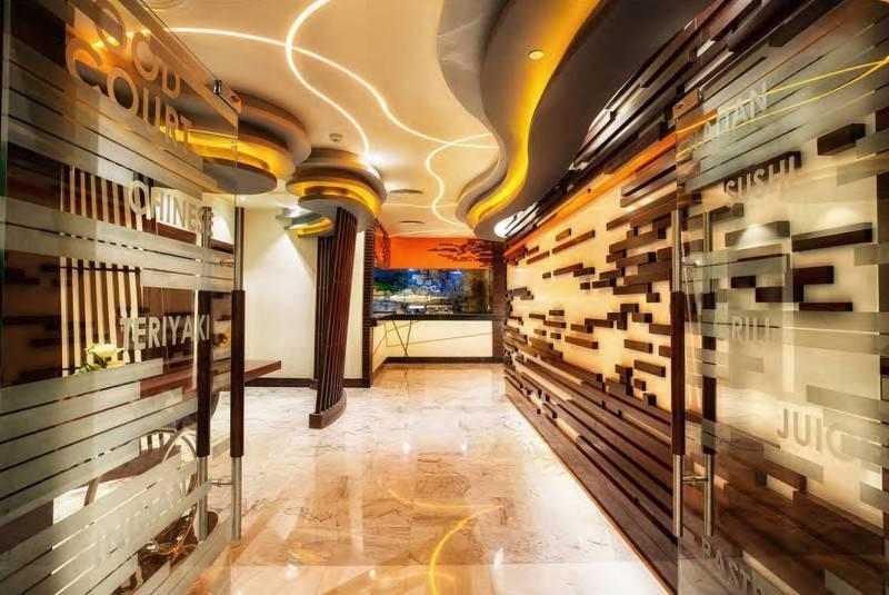 Mul I.d Design Consultant Ghaya Grand Hotel At Dubai United Arab Emirates United Arab Emirates Fushion-Restaurant-Entrance  3875