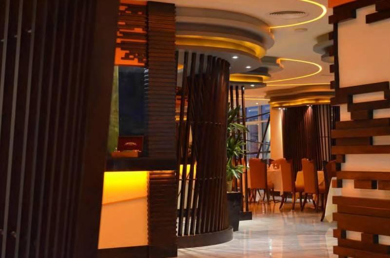 Mul I.d Design Consultant Ghaya Grand Hotel At Dubai United Arab Emirates United Arab Emirates Fushion-Restaurant2  3877