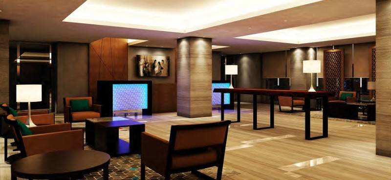 Mul I.d Design Consultant The Pinnacle Condotel & Apartments At Pandanaran Semarang, Middle Java, Indonesia Semarang, Middle Java, Indonesia Lobby-Area Modern 3894