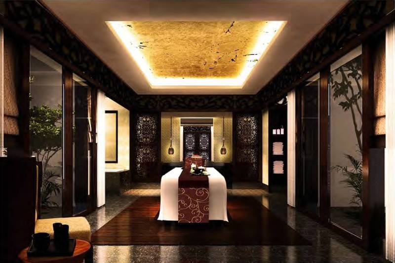 Mul I.d Design Consultant His Highness Sheikh Ammar Al Nuami's Luxury Spa At Ajman United Arab Emirates United Arab Emirates Vip-Royal-Garden-Spa-Treatment-Room Modern 3898
