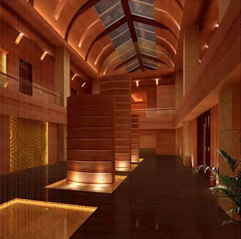 Mul I.d Design Consultant Shangri-La Hotel Qi Spa Chengdu, China Chengdu, China Entrance-Area Kontemporer 3905