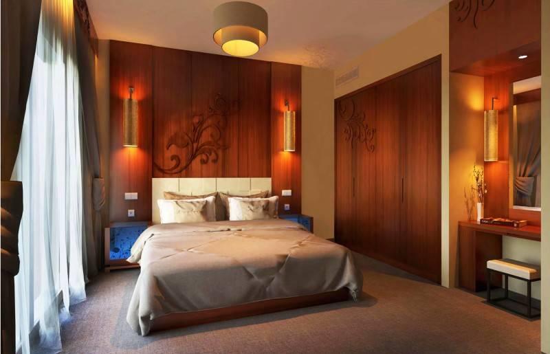 Mul I.d Design Consultant Baity International Hotel At Dubai United Arab Emirates United Arab Emirates Suite-Room-Lighting-Design Modern 3915