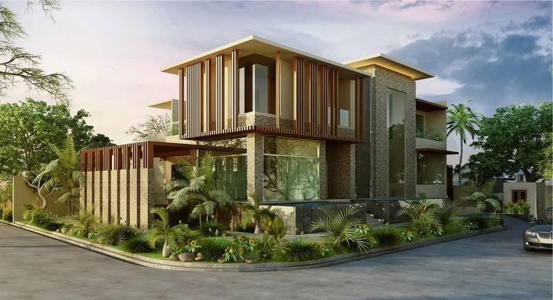 Mul I.d Design Consultant Residence At Menteng Jakarta, Indonesia Jakarta, Indonesia Front View Minimalis,modern,wood,tropis,glass 3917