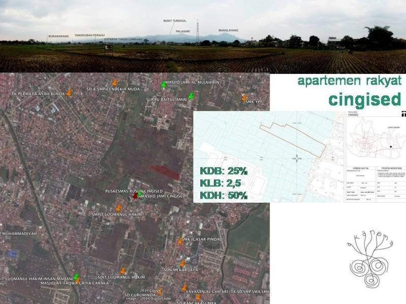 Akanoma Yu Sing Apartemen Rakyat Cingised Bandung, Indonesia Bandung, Indonesia Map Modern 7120