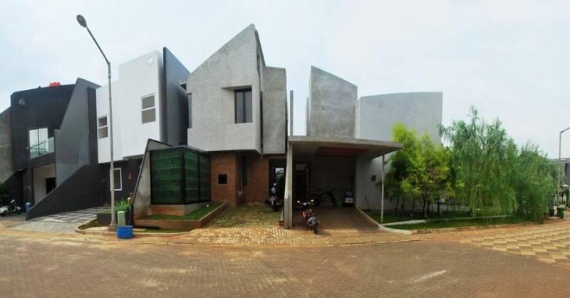 Akanoma Yu Sing Rumah Kecil At Ozone Residence Bintaro, South Jakarta, Indonesia Bintaro, South Jakarta, Indonesia Rumah-Kecil-1 Industrial 3933