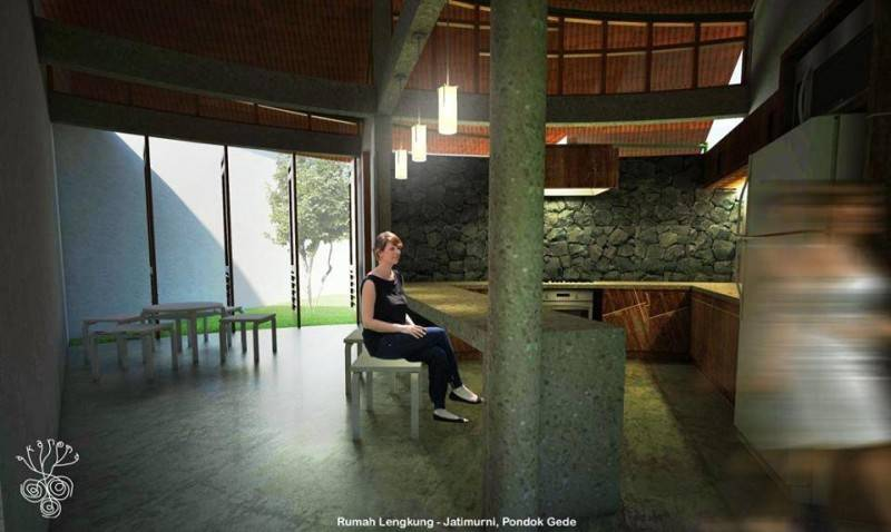 Akanoma Yu Sing Rumah Lengkung At Pondok Gede Bekasi, West Java Bekasi, West Java Rumah-Lengkung-3 Kontemporer 3976