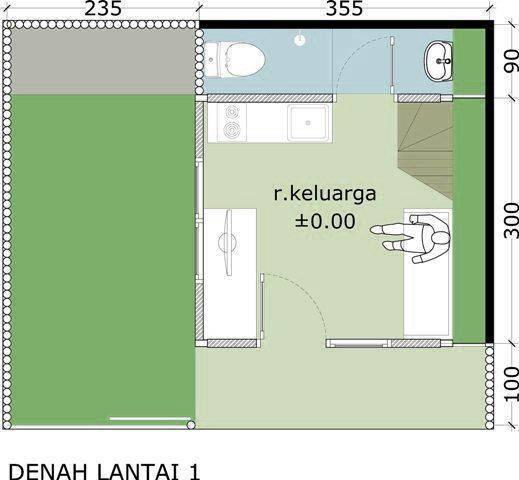 Akanoma Yu Sing Rumah Kayu 07 At Malang East Java East Java Denah-Lantai-1 Minimalis 4111