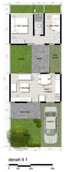 Akanoma Yu Sing Taman Tengah House At Kranggan Cibubur, East Jakarta, Indonesia Cibubur, East Jakarta, Indonesia Rencana-Denah  4134