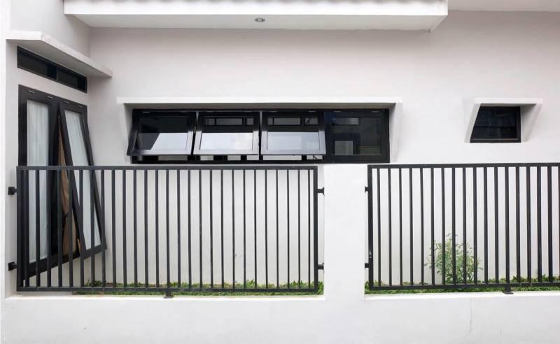 Snrg Studio Wijaya Compact House Jalan Kusuma Wijaya, Bekasi Jalan Kusuma Wijaya, Bekasi Front-View  4055