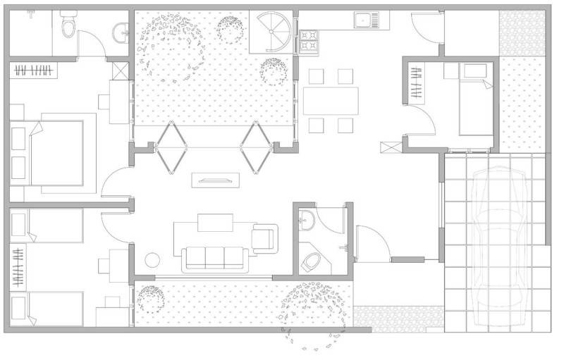 Snrg Studio Wijaya Compact House Jalan Kusuma Wijaya, Bekasi Jalan Kusuma Wijaya, Bekasi Plan  4059