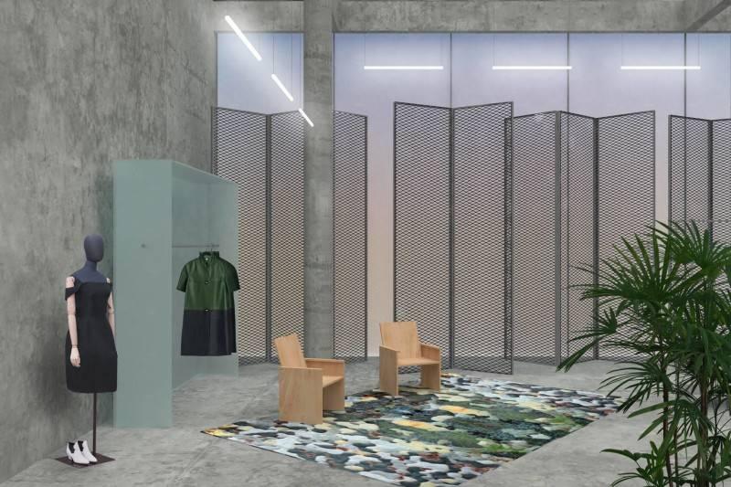 Doppia E Nn Concept Store Jakarta, Indonesia Jakarta Seating Area  4161