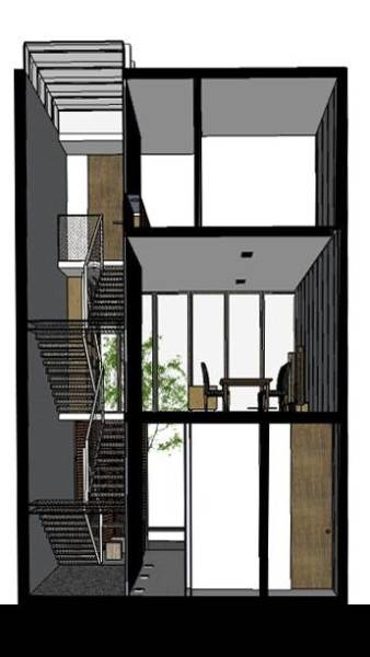 Ads Architect Mekarwangi House 'wall & Slab House' South Bandung, West Java, Indonesia South Bandung, West Java, Indonesia Section1 Modern,tropis 4268