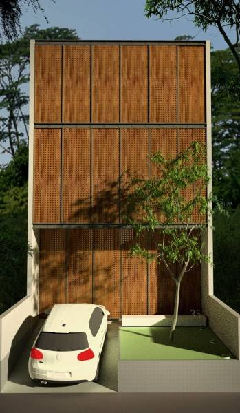 Ads Architect Mekarwangi House 'wall & Slab House' South Bandung, West Java, Indonesia South Bandung, West Java, Indonesia Perspective-1-Day-Shot Modern,tropis 4270
