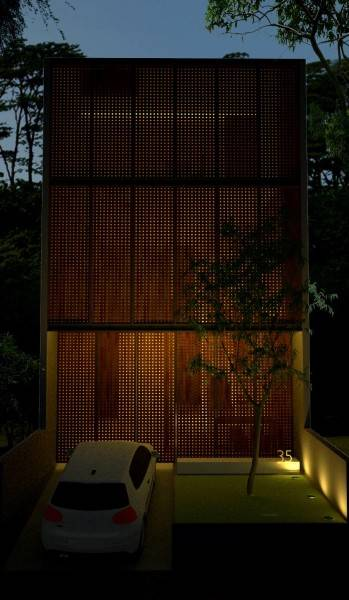 Ads Architect Mekarwangi House 'wall & Slab House' South Bandung, West Java, Indonesia South Bandung, West Java, Indonesia Perspective-1-Windows-Closed Modern,tropis 4271