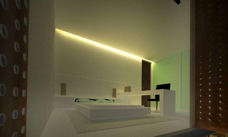 Ads Architect Mekarwangi House 'wall & Slab House' South Bandung, West Java, Indonesia South Bandung, West Java, Indonesia Master-Bedroom Modern,tropis 4276