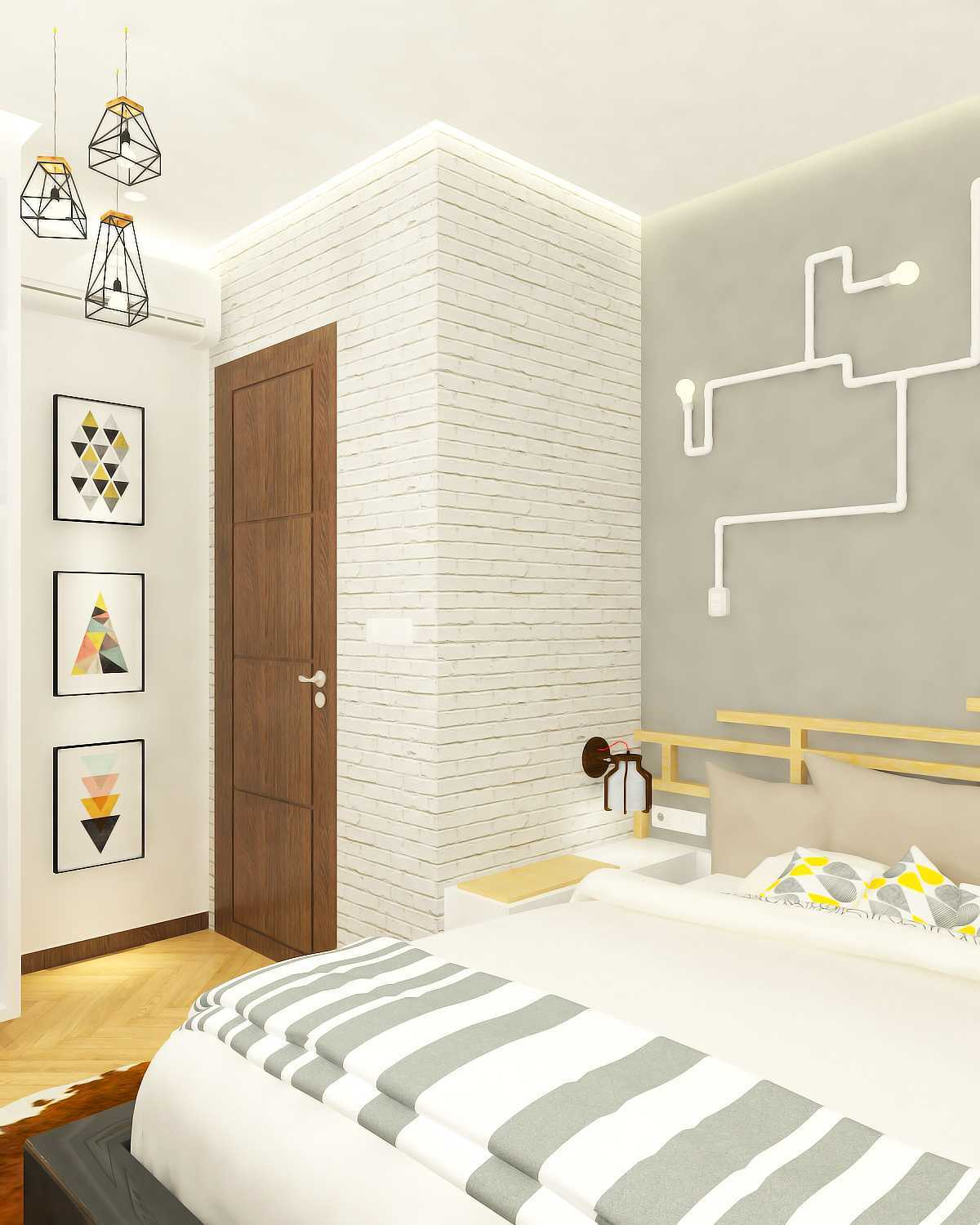 Miv Architects (Ar. Muhammad Ikhsan Hamiru, Iai & Partners) Interior Design Of Boys Bedroom In Private Home Makassar, Sulawesi Selatan, Indonesia Makassar, Sulawesi Selatan, Indonesia Bedroom Kontemporer 9845