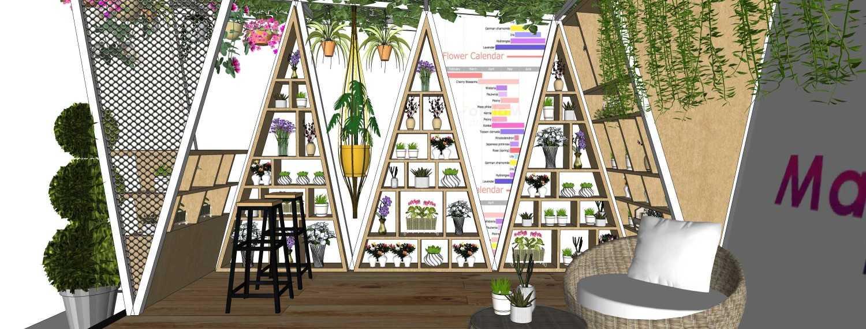 Foto inspirasi ide desain display area tropis Interior oleh MIV Architects (Muhammad Ikhsan Hamiru & Partners) di Arsitag
