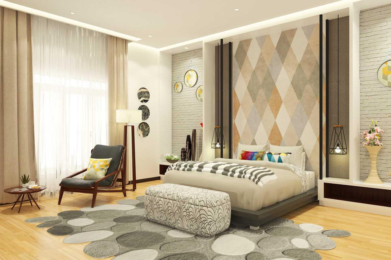 Miv Architects (Ar. Muhammad Ikhsan Hamiru, Iai & Partners) Bedroom & Kitchen Design  Polewali Mandar, Sulawesi Selatan Polewali Mandar, Sulawesi Selatan Bedroom Industrial 22421