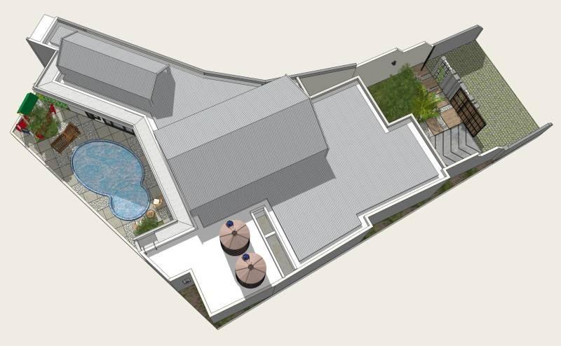 Miv Architects (Ar. Muhammad Ikhsan Hamiru, Iai & Partners) Rumah Maros #1 Maros, Sulawesi Selatan, Indonesia Maros, Sulawesi Selatan, Indonesia Bird Eye View Modern 5132