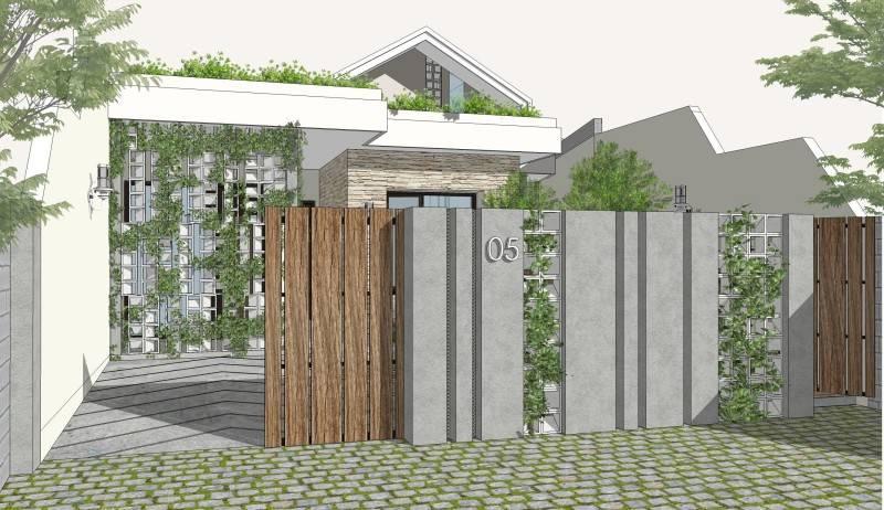 Miv Architects (Ar. Muhammad Ikhsan Hamiru, Iai & Partners) Rumah Maros #1 Maros, Sulawesi Selatan, Indonesia Maros, Sulawesi Selatan, Indonesia Facade Modern 5134