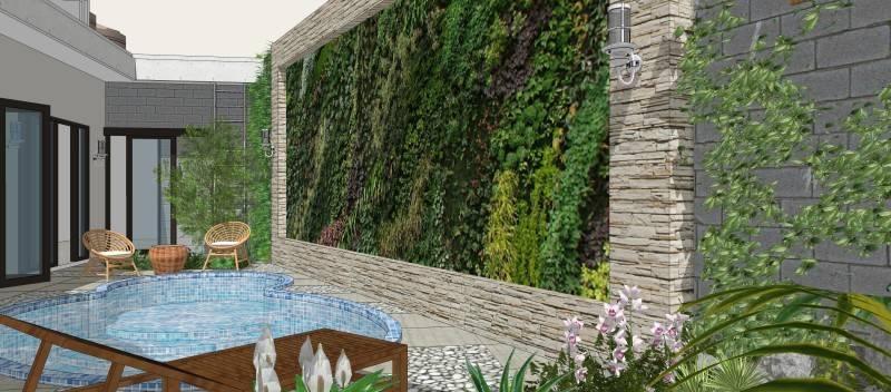 Miv Architects (Ar. Muhammad Ikhsan Hamiru, Iai & Partners) Rumah Maros #1 Maros, Sulawesi Selatan, Indonesia Maros, Sulawesi Selatan, Indonesia Swimming Pool Modern 5137