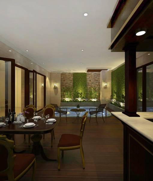 Foto inspirasi ide desain ruang makan klasik Dining room oleh MIV Architects (Ar. Muhammad Ikhsan Hamiru, IAI & Partners) di Arsitag