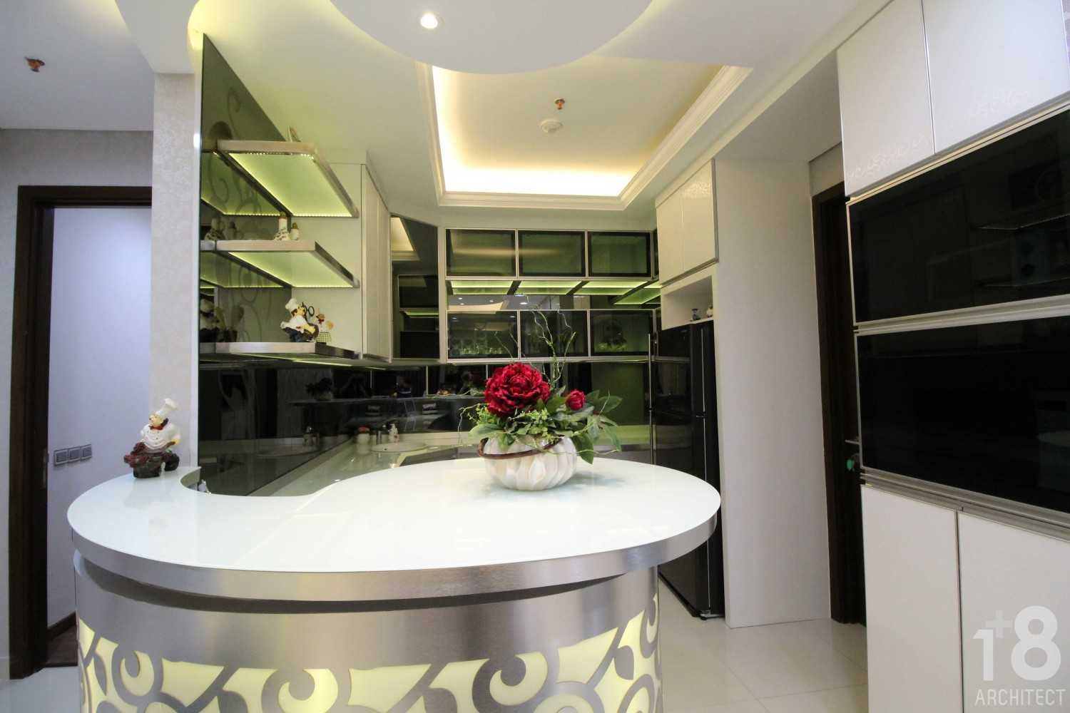 1+8 Architect St. Moritz, Presidential Tower Suite Room Jakarta, Indonesia Jakarta, Indonesia Pantry Modern 23004