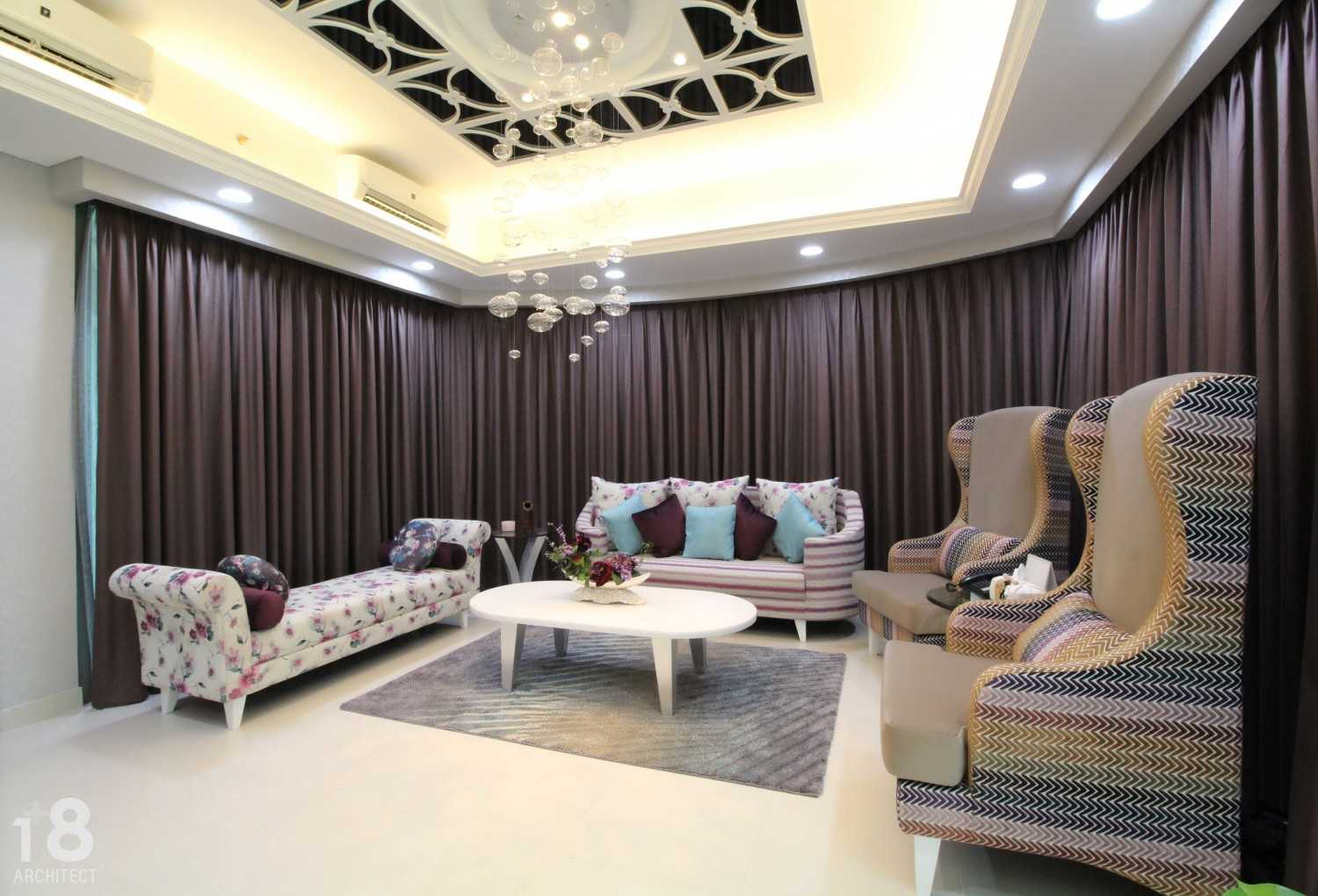 1+8 Architect St. Moritz, Presidential Tower Suite Room Jakarta, Indonesia Jakarta, Indonesia Liviing Room Modern 23008