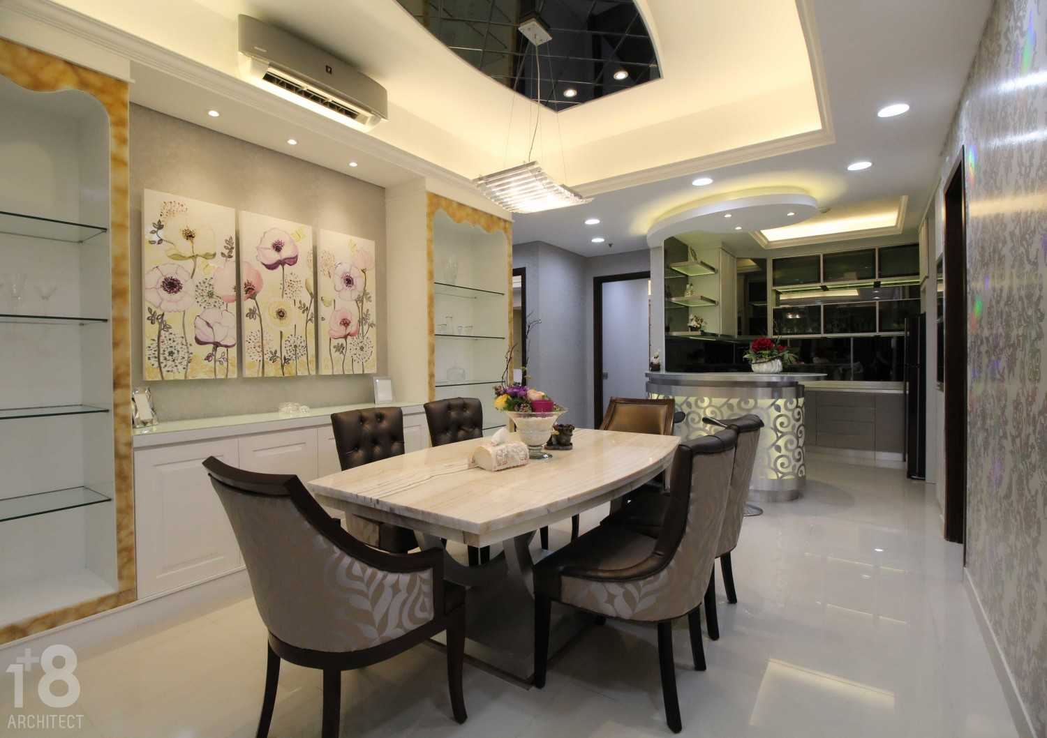 1+8 Architect St. Moritz, Presidential Tower Suite Room Jakarta, Indonesia Jakarta, Indonesia Dining Room Modern 23009