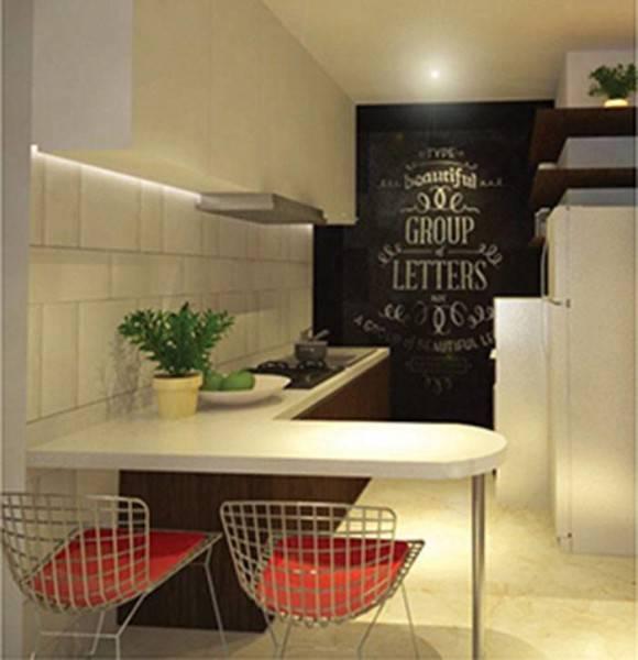 Farissa Achmadi Apartment Unit At Thamrin Jakarta, Indonesia Jakarta, Indonesia Kitchen-Set Modern 5193