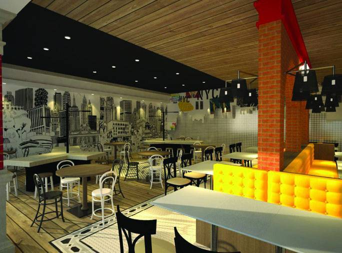 Farissa Achmadi Restaurant Concept Jakarta, Indonesia Jakarta, Indonesia Dining-Table-1 Industrial 5342