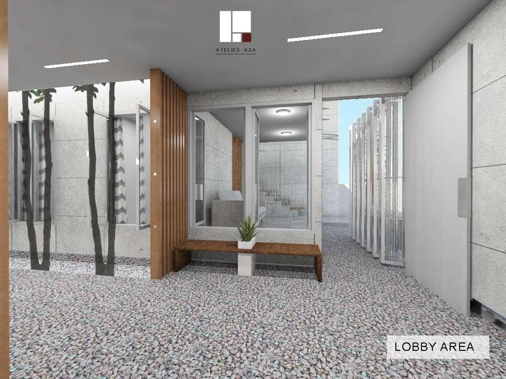 Foto inspirasi ide desain lobby skandinavia Lobby oleh Atelier ARA di Arsitag