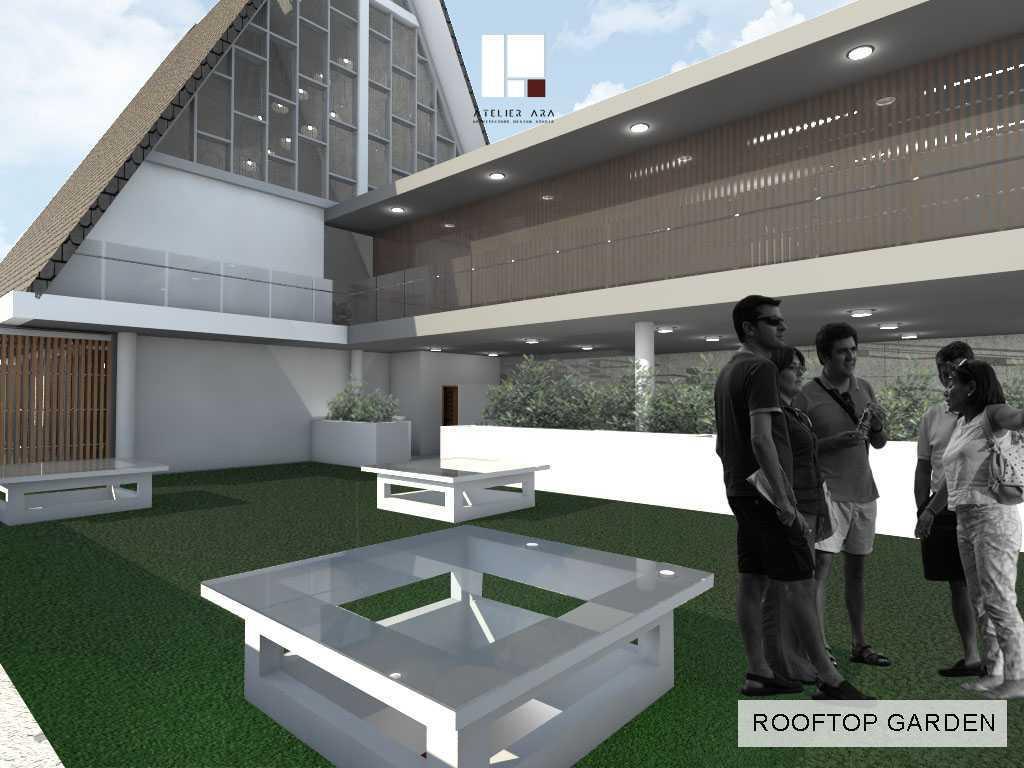 Foto inspirasi ide desain atap skandinavia Rooftop garden oleh Atelier ARA di Arsitag