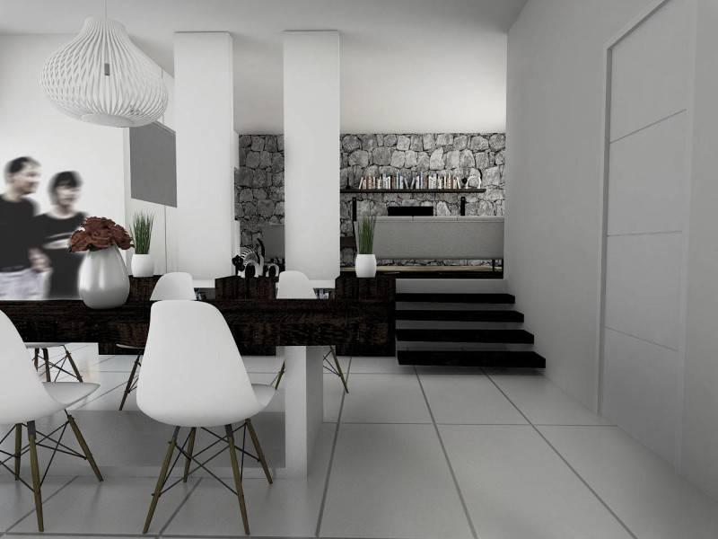 Atelier Ara Mendut House Interior Jakarta, Indonesia Jakarta Ruang-Makan Minimalis 5209