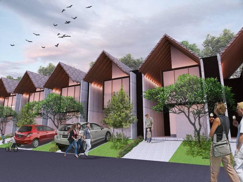 Monokroma Architect Cisauk Landed House Jakarta Jakarta Alternative Unit Minimalis 827
